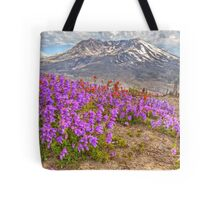 Color from Chaos - Mt. St. Helens Tote Bag