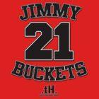 Jimmy Buckets Tee. by tony.Hustle.tees ®