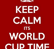 Keep Calm, Support England by jlj177