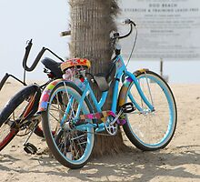 Beach Cruisers in Love by Candi  Leigh Photography