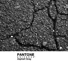 Real Life Pantone: Asphalt Gray by coffeespoon