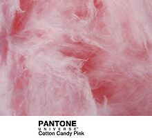 Real Life Pantone: Cotton Candy Pink by coffeespoon