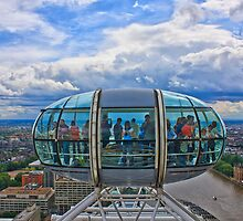 London Eye by bidkev1