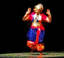 The Indian Dancer is a Story Teller   by PictureNZ
