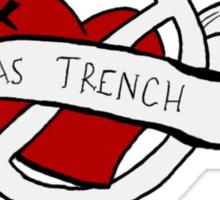 Marianas trench design Sticker