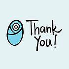 Thank You Bebe Blue  by Mandusk