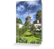 Danish Windmills and Sunshine Greeting Card
