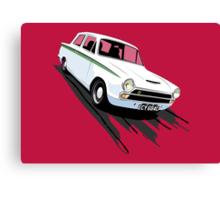 Ford Lotus Cortina Mk 1 Canvas Print