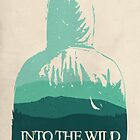 Into the Wild minimalist movie poster by OurBrokenHouse