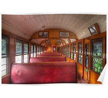 Scenic Railway Carriage Poster