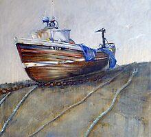 Our Georgina, North Landing, Flamborough by Sue Nichol