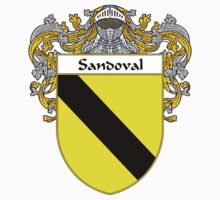 Sandoval Coat of Arms/Family Crest by William Martin