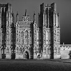 Wells Cathedral at Night by Mark Stone