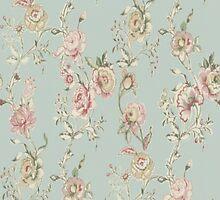 Vintage Floral by Deborah  Stormborn