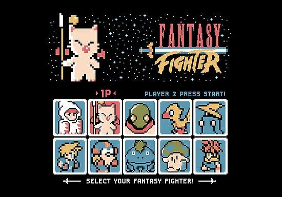 Fantasy Fighter by thehookshot