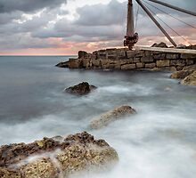 The Old Winch at Portland by Chris Frost Photography