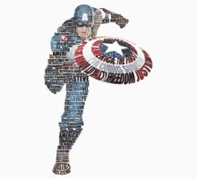Captain America by gecaccavale