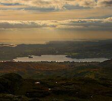 Lough Eske and Donegal Bay by Adrian McGlynn