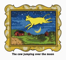 Goodnight Moon The Cow Jumping Over the Moon by neoPOPart