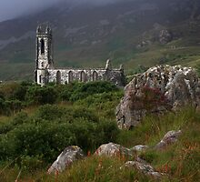 Dunlewey Church On Overcast Day by Adrian McGlynn