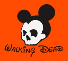 The Walking Dead Mickey Mouse by mullian
