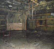 Abandoned Room In The Old Mayfield Station Manchester by Callum Bleasdale