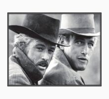 Robert Redford & Paul Newman by billycorgan84