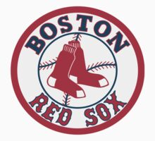 Boston Red Sox baseball logos T-Shirts ,Stickers by boomer321sasha