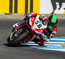 Eugene Laverty at Laguna Seca 2013 by corsefoto