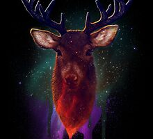 Galaxy Stag by Keelin  Small