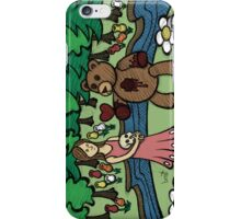 Teddy Bear And Bunny - Please Take It iPhone Case/Skin