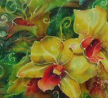 Orchid Series 11 by Deborah Younglao