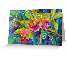 Orchid Series 14 Greeting Card