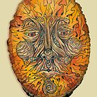 Greenman in Autumn by Heather Reid