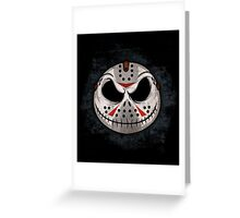 Nightmare Before Friday Greeting Card