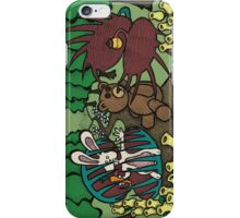 Teddy Bear And Bunny - The Venus Flytrap iPhone Case/Skin