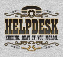Helpdesk by bunnyboiler