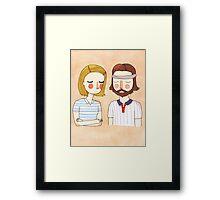 Secretly In Love Framed Print