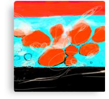 Waves of Porto Katsiki Canvas Print