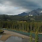 Banff national park - contrasting weather by gogston