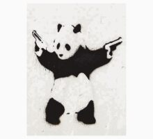 Panda With Guns by BanksyOfficial