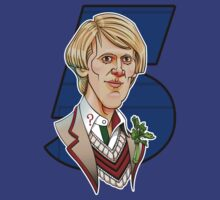 The Fifth Doctor by RoguePlanets