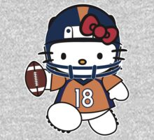 Hello Kitty Loves Peyton Manning & The Denver Broncos! by endlessimages