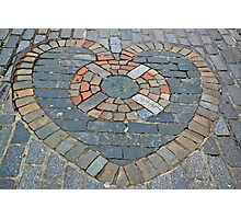 A Heart of Stone Photographic Print