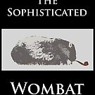 The Sophisticated Wombat by pearloil