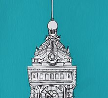 Brighton Clock Tower by Adam Regester