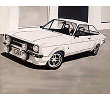 Mk.2 Ford Escort 1.6 Mexico Photographic Print