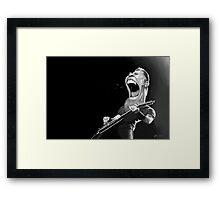 Hetfield  Framed Print