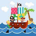 PIRATE SHIP (AQUATIC VEHICLE) by alapapaju