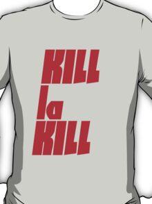 Kill La Kill Poster T-Shirt
